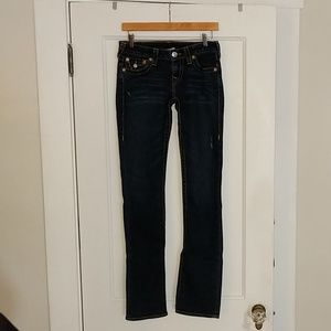 True Religion Straight Jeans, sz 28